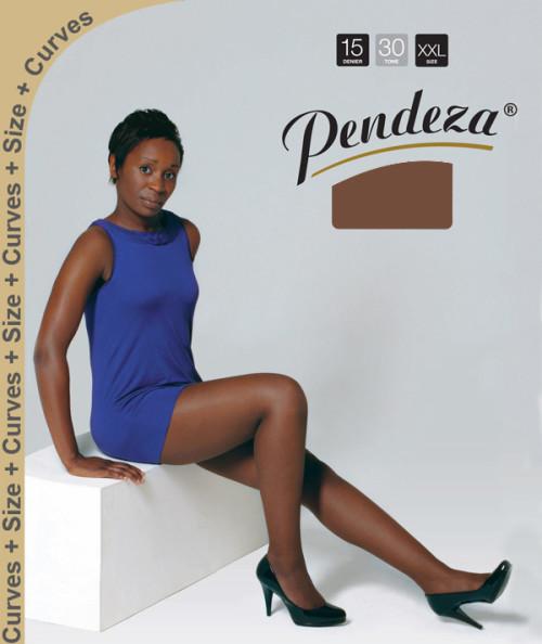 Pendeza Pantyhose sheer tights xxl/q tone 30