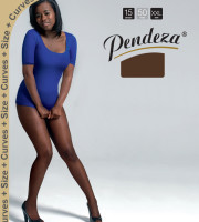 Pendeza Pantyhose sheer tights xxl/q tone 50