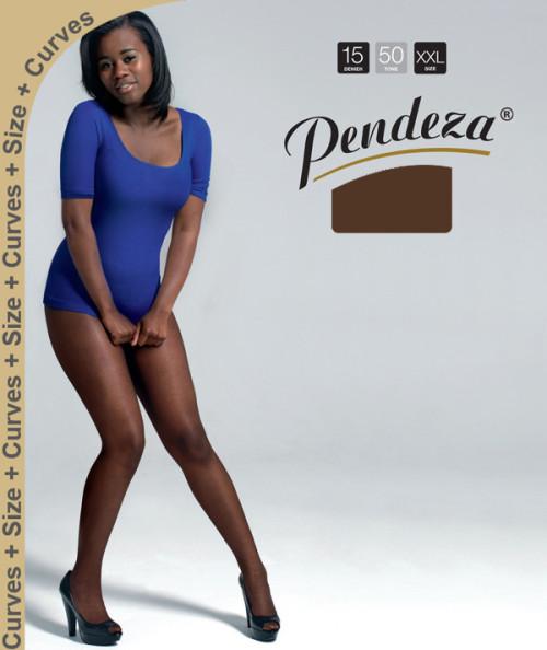 Pendeza Pantyhose sheer tights xxl/q tone 50