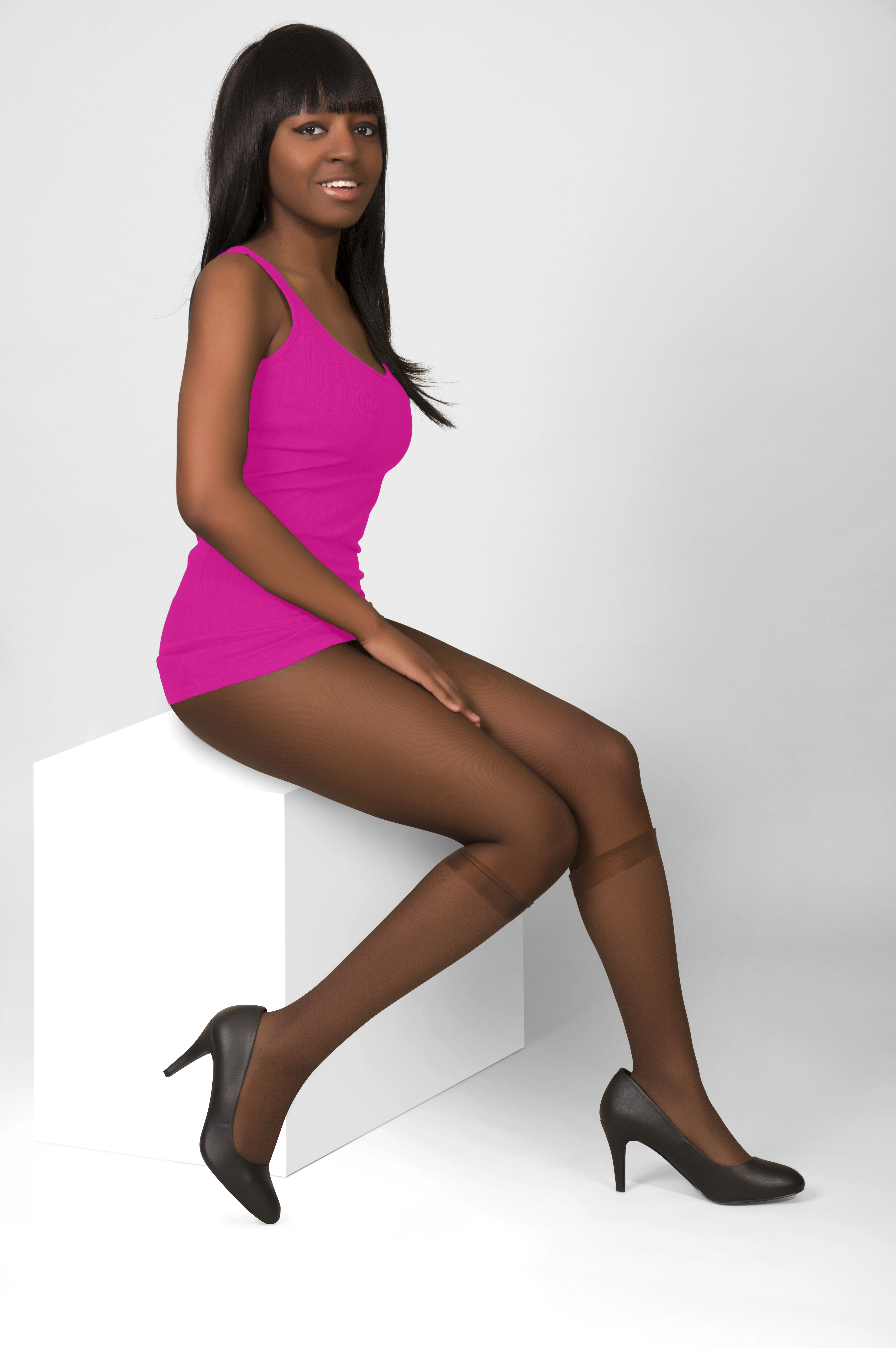 2cb7a1289c087 Tone 50 – Pendeza Toned Collection sheer Knee Highs For Ultimately Darker  Skin Tones | Pendeza Pantyhose